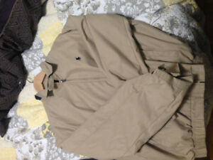 MEDIUM BEIGE POLO JACKET