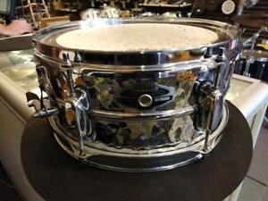 """Tama Hand Hammered 5.5""""x12"""" Steel Snare Drum-caisse claire - MT1455DBN - used-usagée"""