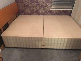 Myers double divan bed base