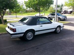 FORD MUSTANG CONVERTABLE 5.0l 1986