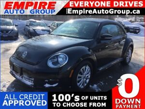 2016 VOLKSWAGEN BEETLE 1.8T SE * REAR CAM * BLUETOOTH * SUNROOF