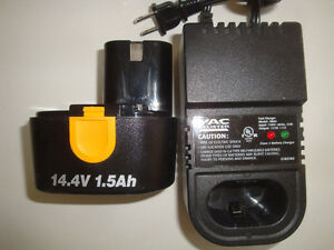 Chargeur de batteries 14,4 Volts