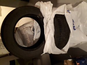 Summer Tires 225/60R 17 to sell!