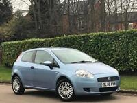 Fiat Grande Punto 1.2 Active White 3dr ONLY 38K MILES+