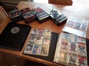 Lot de cartes de hockey