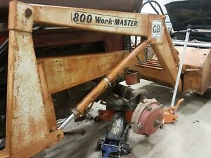 Great Bend 800  front end loader