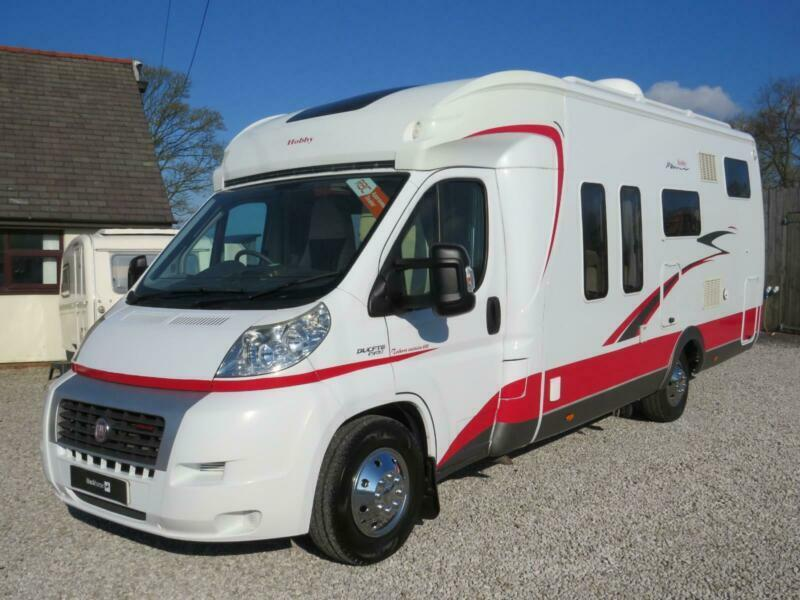b803090a29 2011 Hobby Toskana Exclusive 690 H GFLC - Fixed Bed   Low Profile -  Motorhome