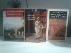 Friedrich Nietzsche  Books 3 For $20. Firm