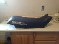 used seat from a Polaris 250r