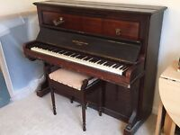 John Broadwood and Sons Upright Piano
