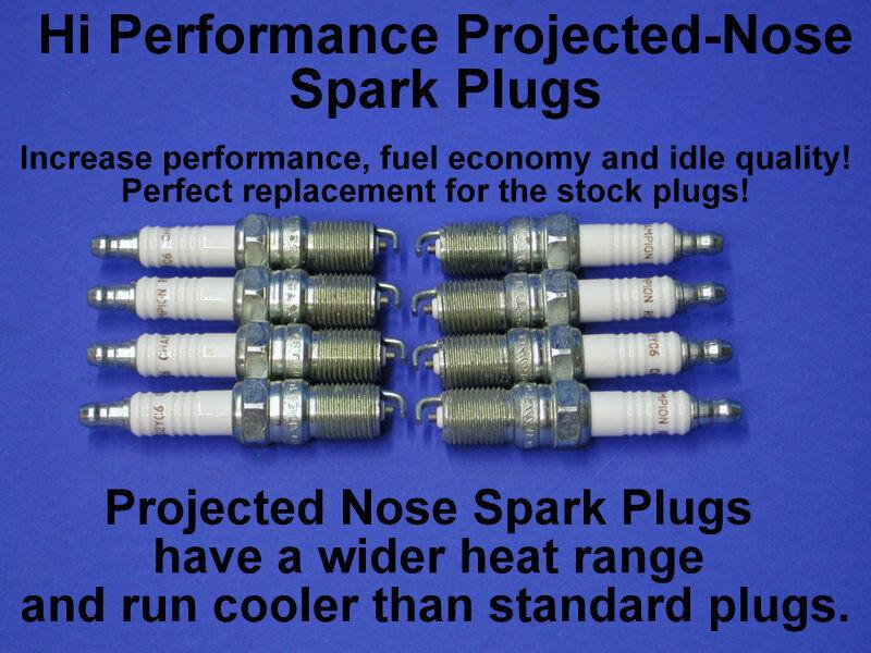 HI PERF MERCRUISER GEN+ VORTEC CHEVY SPARK PLUGS 33-816336 V6 5.0L 5.7L 7.4 L29