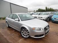 AUDI A4 1.8 TURBO S-LINE 4 DOOR SALOON