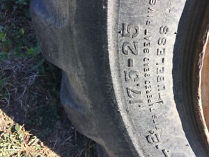 Needed 4 rubber tire loader tires