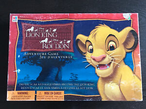 "Collectible Vintage ""The Lion King"" Board Game- COMPLETE!"