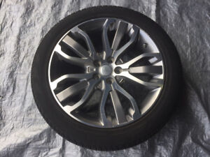 """OEM 21"""" Land Rover Range Rover wheels (Style 507) with Tires"""