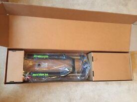 Fox Rhythm 34 suspension forks, 27.5 wheels, 120mm travel, boost 15 x 110mm