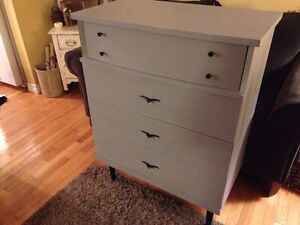Refinished Dresser - nicely refinished and made in Canada