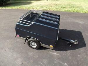 Denray Eagle trailer - 1990 Goldwing Blue.
