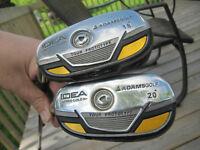 2 LEFTY Adams Hybrid golf Clubs