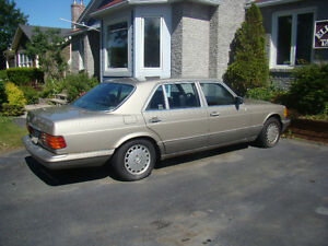 1987 Mercedes-Benz 560-SEL for sale by original owner .