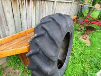 Massey Ferguson 255 Tractor Tire,, only one