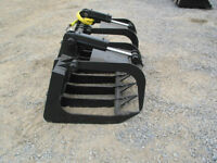 New Wildkat 72 & 80  inch Brush Grapple Skid Steer Attachment