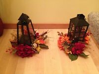 Beautiful Fall Lantern Table Centerpieces - NEW REDUCED PRICE!