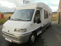 Hobby 750, 700 Series Left Hand Drive Motorhome for Sale