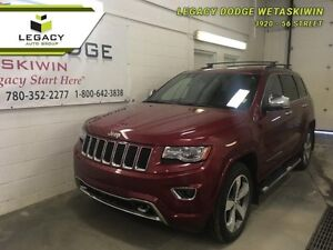 2014 Jeep Grand Cherokee Overland  - Uconnect 8.4N