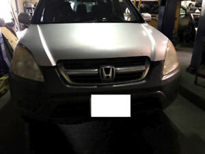 parting out 2003 Honda CRV Automatic 4WD for PARTS!! Silver in c