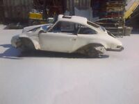 Rare 1973 911 sunroof coupe project car