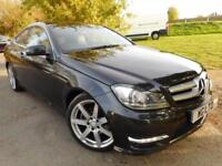 2013 Mercedes Benz C Class C250 CDI BlueEFFICIENCY AMG Sport 2dr Auto Full Me...