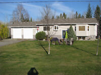 Home for sale on 5.3 acres Quesnel BC
