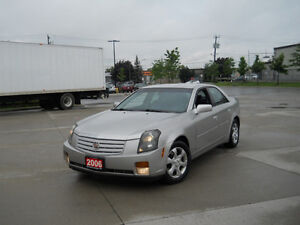 2006 Cadillac CTS, Leather, 6 Spd Sport, 3/Y warranty available