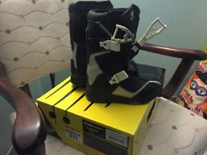 Kids size 11 motocross boots Fox