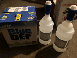 DEF AdBlue diesel exhaust fluid blue def urea solution ad blue