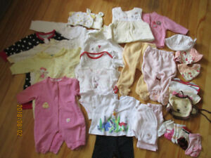 3 to 6 Month Girl Clothes