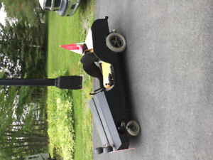 Homemade Go cart