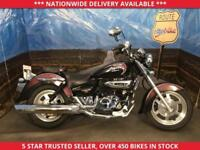 HYOSUNG GV125 GV 125 AQUILA LEARNER LEGAL CRUISER LOW MILES 2014 14