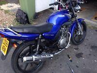 Yamaha ybr 125cc new mot