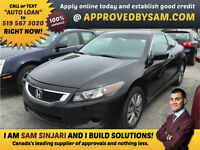 "Honda Accord Coupe - $0 DOWN - TEXT ""AUTO LOAN"" TO 519 567 3020"