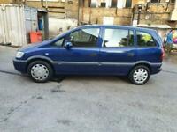 2004 Vauxhall Zafira 1.8 i 16v Life 5dr Auto +7 Seats +Low Miles +ULEZ Car