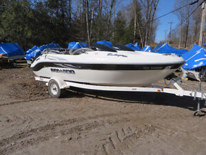 2001 Seadoo Challenger with240hp efi Mercury including trailer.