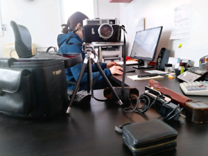 Canon modèle 7 avec malette en cuir