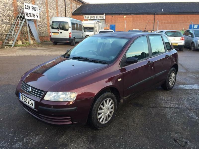 2002 Fiat Stilo 19jtd Active Diesel Manual In Swaffham Norfolk