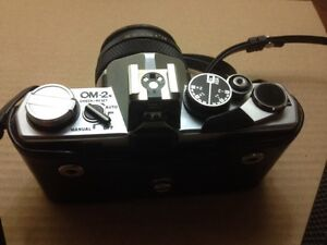Olympus OM-2N 35mm SLR Camera with case Cambridge Kitchener Area image 4