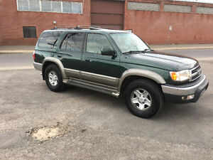 2001 Toyota 4Runner Limited cuir Toit ouvrant