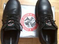 Men's Moosehead Steel-toe Safety Boots, size 10