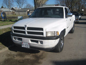 1996 DODGE  SPORT 1500  EXT CAB  AS IS