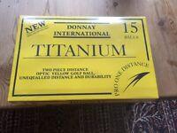 Donnay International golf balls